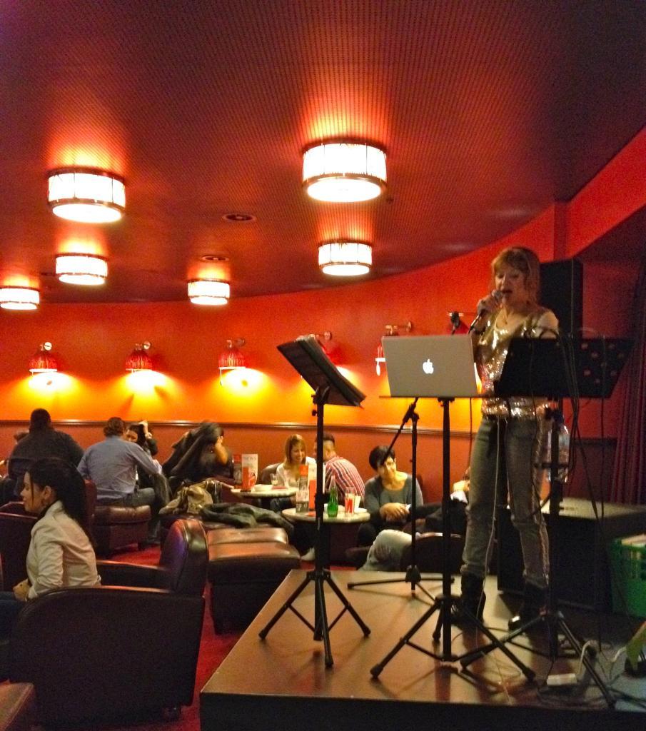 Gabriela au Casino de Motreux